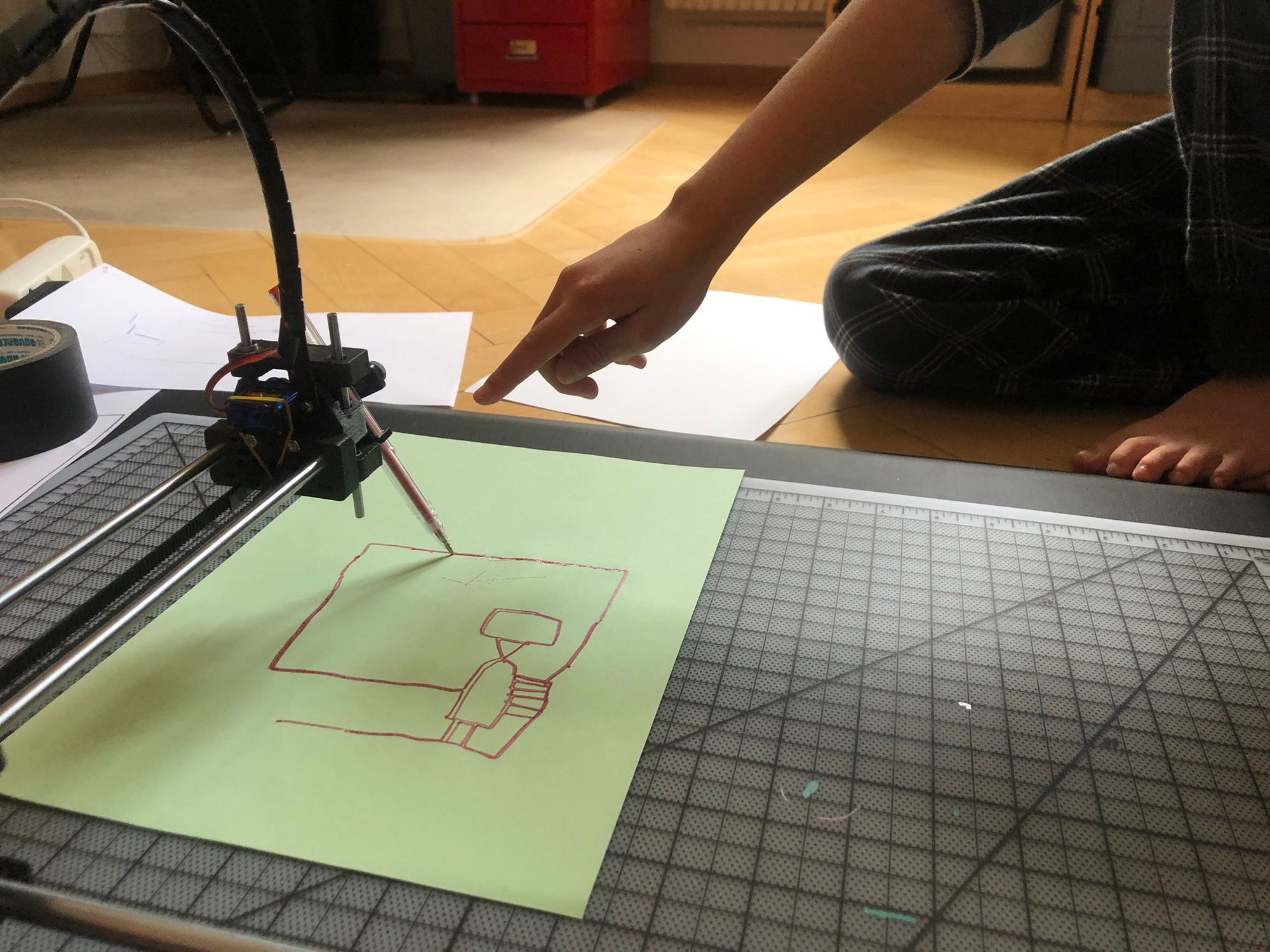Plotter Update: Robot Invasion